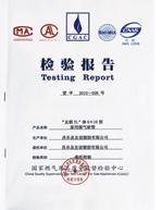煤气管检测报告