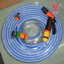 4分海蓝塑胶网纹管
