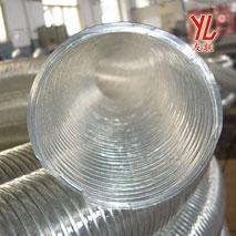 四季柔软Φ102透明钢丝管