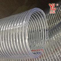 抗老化环保无味Φ102透明钢丝软管