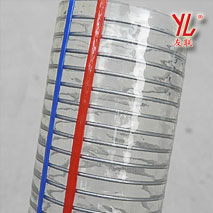 耐磨耐压吸排透明钢丝管