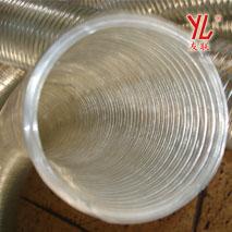 透明 耐高温160度钢丝增强软管