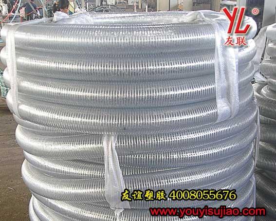 高压透明钢丝管